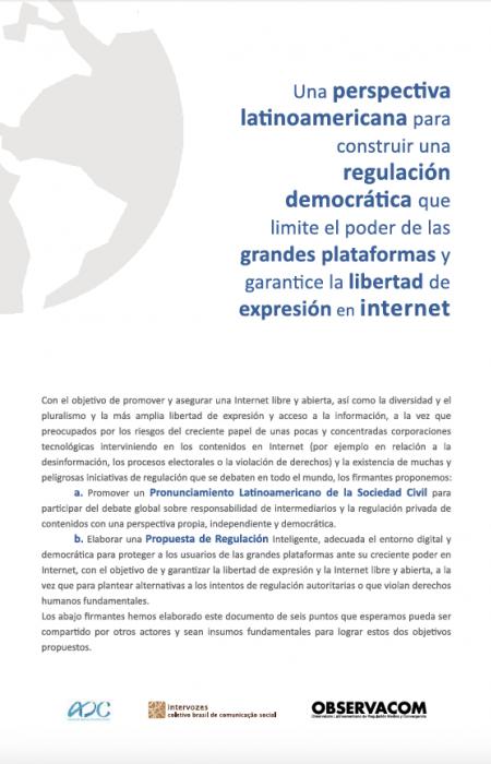 Responsabilidad de intermediarios y libertad de expresión