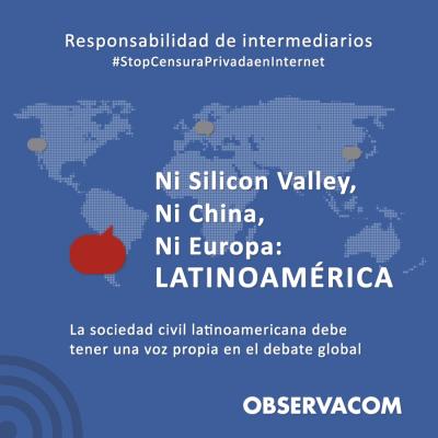 placa #StopCensuraPrivadaenInternet
